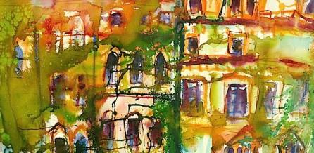 Am Celler Schloß gemalt