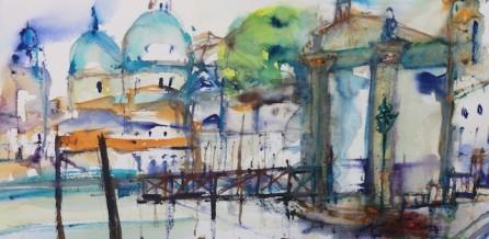 Aquarell von der Venedigmalreise