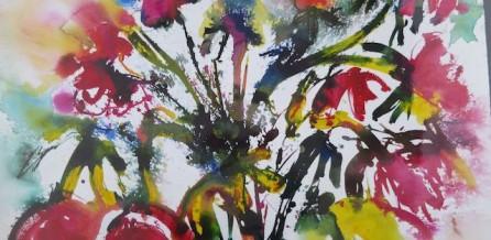 Blumen mit Ausdruck