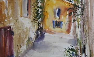 Gasse in der Provence