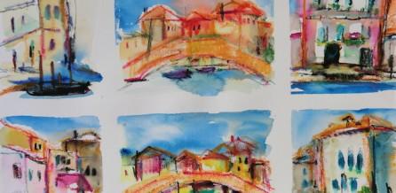 Malen auf Murano