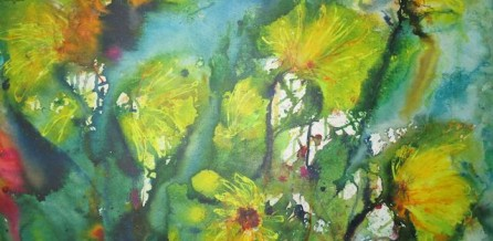 Sonnenblumen in der Natur