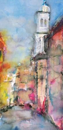 Venedig mit Kirche